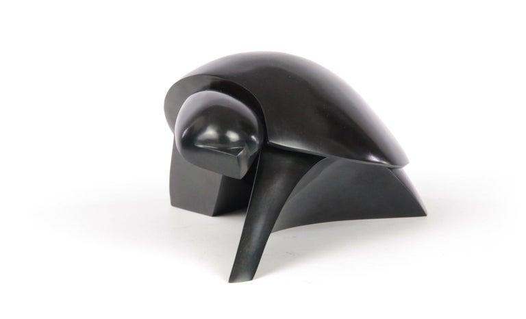 Takioka, Animal Bronze Sculpture of a Turtle For Sale 3