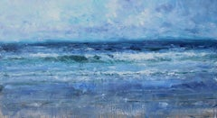 High Tide, Scottish Seascape Painting