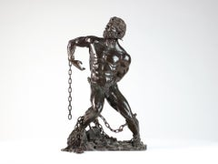 Prometheus Freed, Male Nude Bronze
