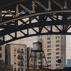 125th and Broadway (New York) - Urban Landscape Painting