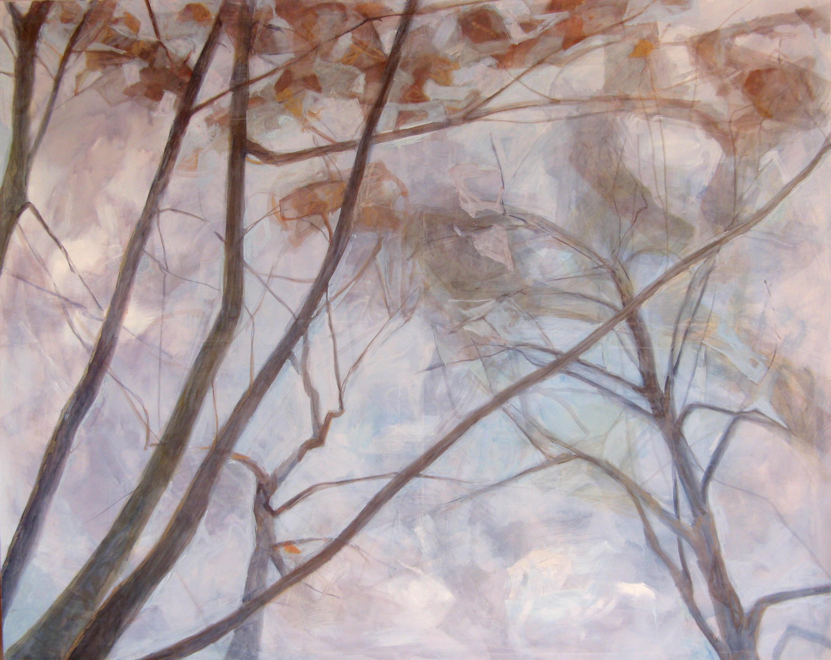 Untitled II, contemporary landscape painting