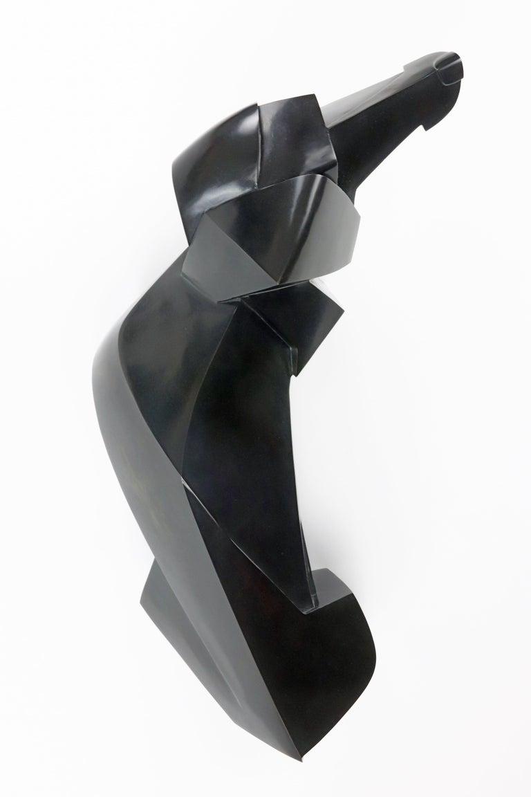 Teckio, Animal Bronze Sculpture of a dachshund For Sale 1