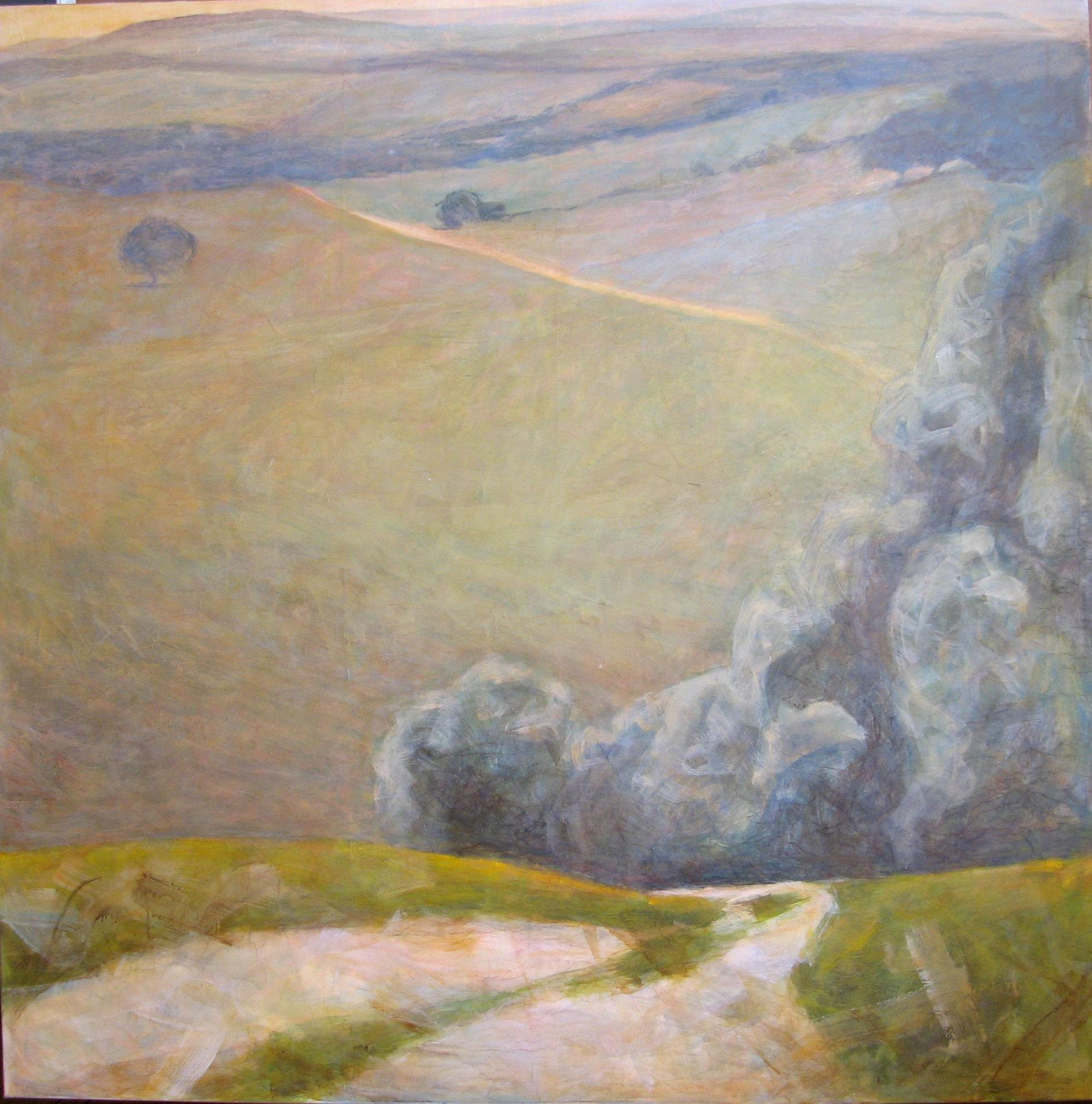 The Road, contemporary landscape painting