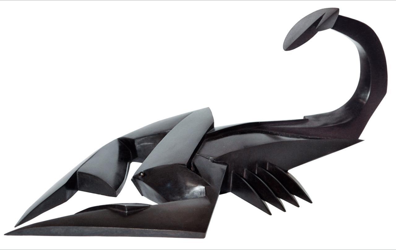 Kioetano, Animal Bronze Sculpture (Scorpio)