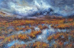 After the rain, Buachaille Etive Mor - Scottish Landscape Painting