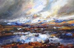 Rannoch Moor return - Scottish Landscape Painting
