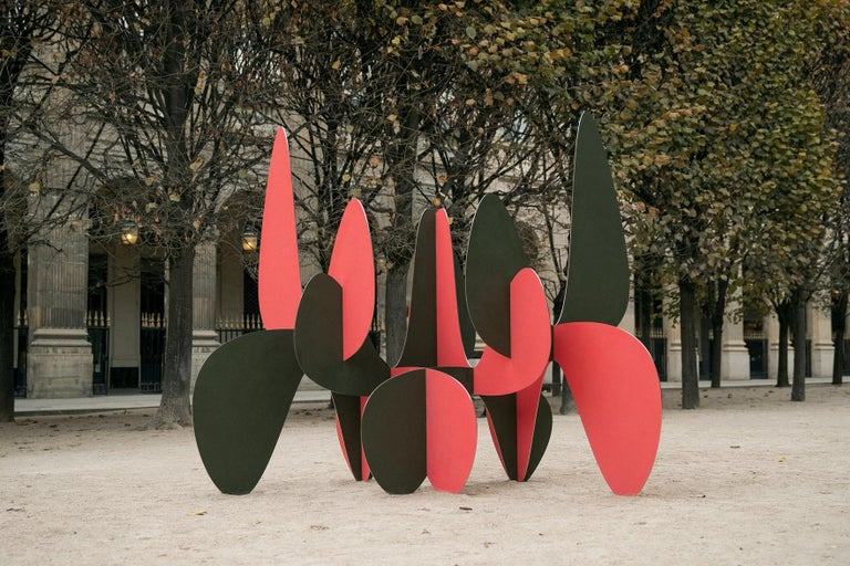 Barricada #8 aic2 L, Large-Scale Abstract Sculpture, Steel For Sale 1