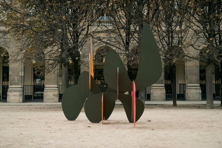 Barricada #8 aic2 L, Large-Scale Abstract Sculpture, Steel For Sale 3
