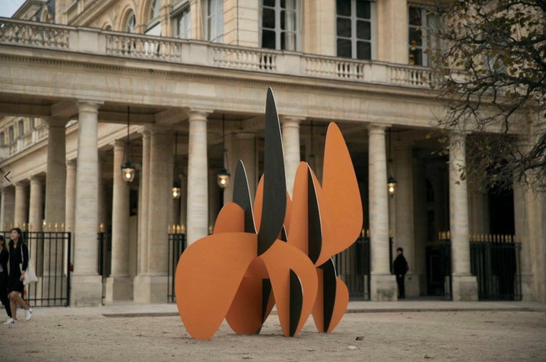 Barricada #8 aic2 L, Large-Scale Abstract Sculpture, Steel For Sale 4