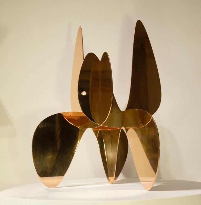 Barricada #9 bp M, Abstract Sculpture, Bronze For Sale 1