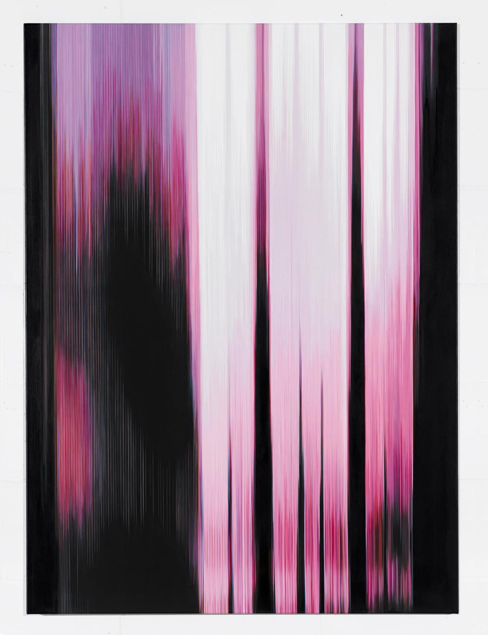 Pink Painting (Figure No.1) - Abstract painting
