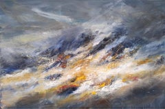 Anteallach Illumination 2 - Scottish Landscape Painting