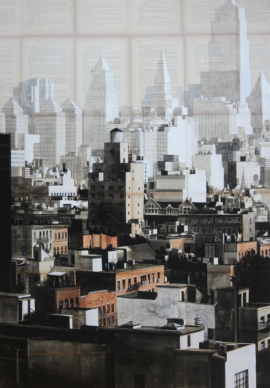 Gotham (New York City) - Urban Landscape Painting