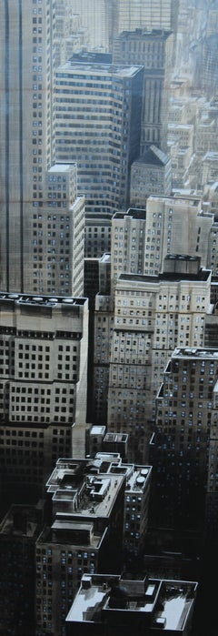 Triple Loops (New York) - Urban Landscape Painting