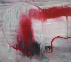 Penelope, letter to Ulysses (contemporary semi-abstract painting)