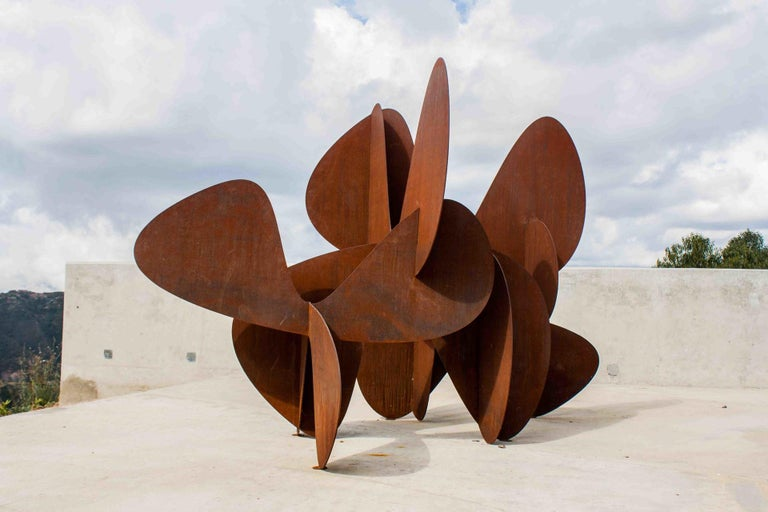 Barricada #2 ac L - Large-scale Abstract Sculpture For Sale 1