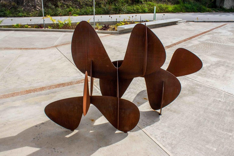 Barricada #2 ac L - Large-scale Abstract Sculpture For Sale 2