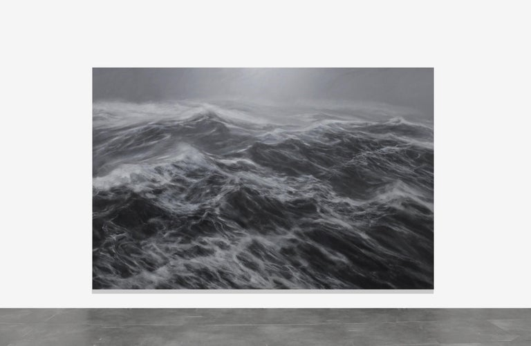 The Kingdom of the Wind - Contemporary Seascape Painting - Art by Franco Salas Borquez