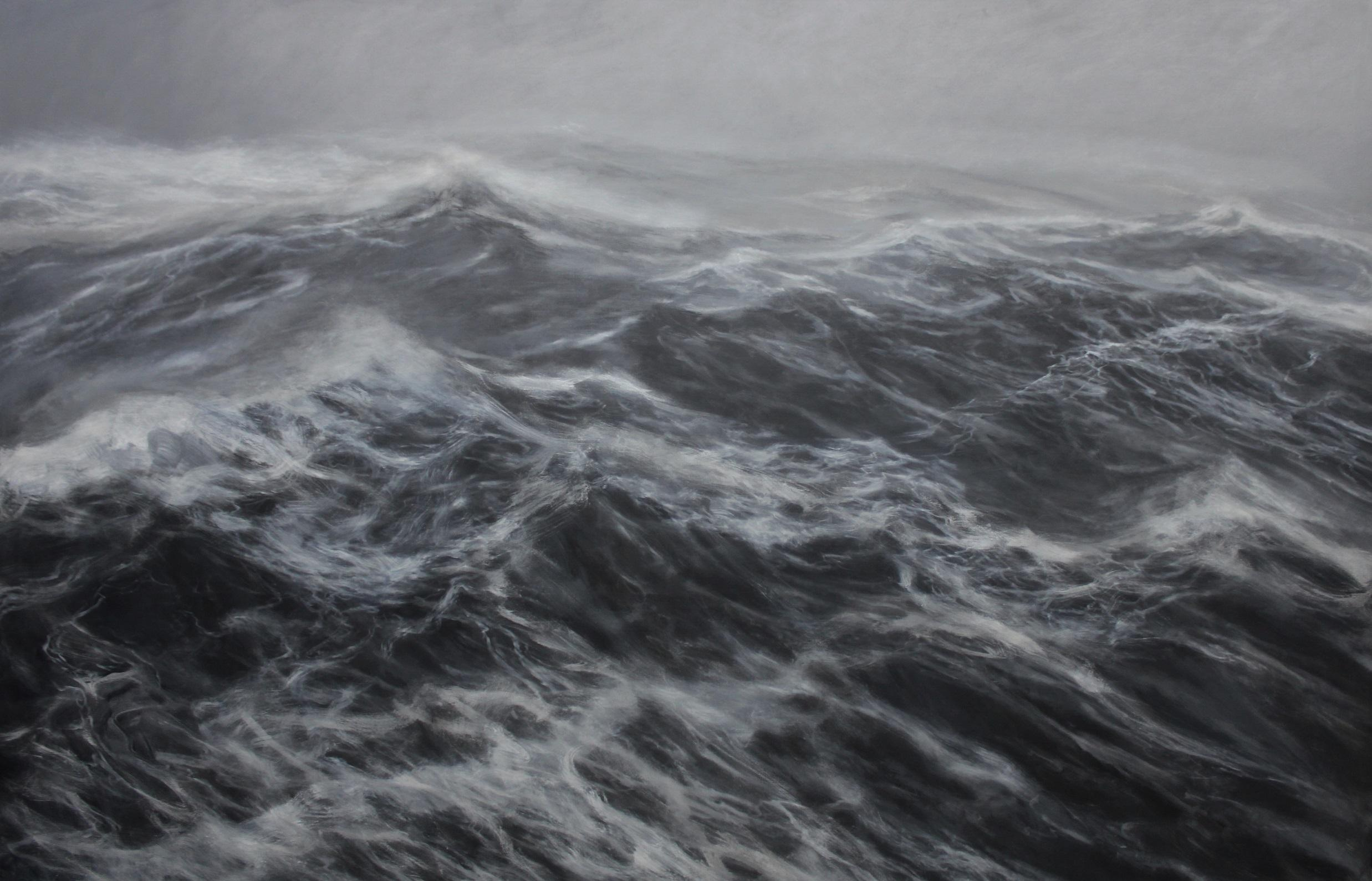 The Kingdom of the Wind - Contemporary Seascape Painting