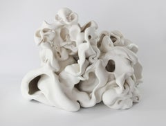 Untitled 5, Abstract porcelain sculpture