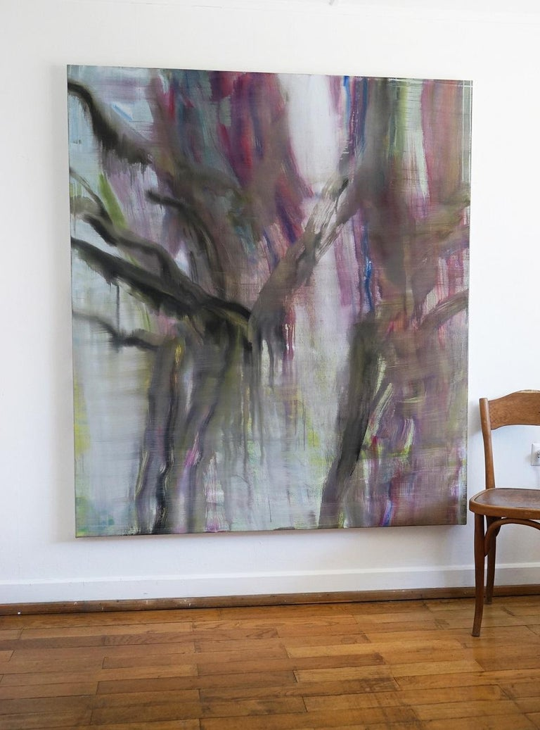 II (Norgous Bey's series) - Contemporary Abstract Painting For Sale 1