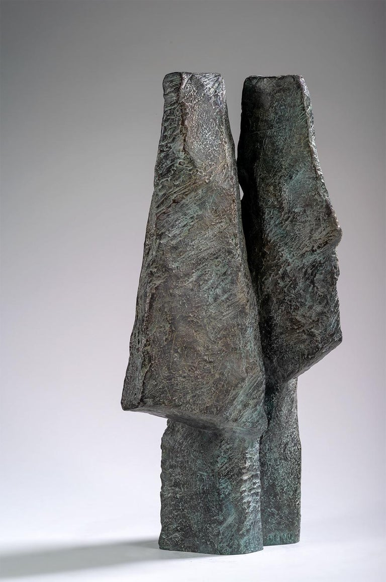 Bronze sculpture, 54 cm × 26 cm × 17 cm. Limited edition of 8 + 4 A.P., each signed and numbered.  Photo credit: © Christian Baraja, © Martine Demal, @ ADAGP