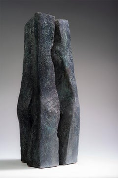 Duo by Martine Demal - Contemporary bronze sculpture, Semi Abstract