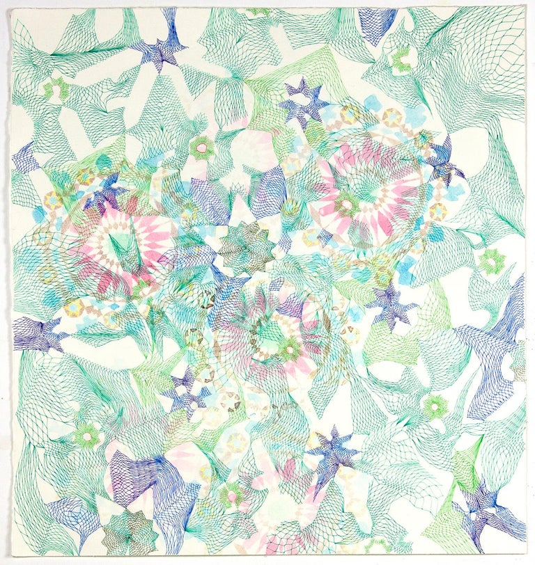 Natalie Ryde Abstract Drawing - Quilted Multiverse