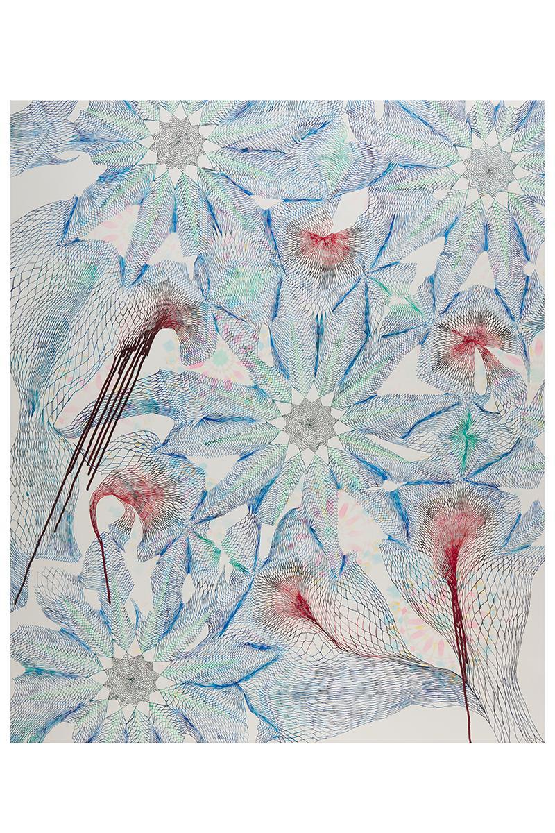 Abstract Pen Work Art