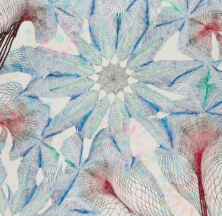 Everything we thought we knew - Abstract pen and ink drawing on paper - Abstract Geometric Art by Natalie Ryde