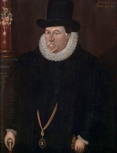 Sir John Fortescue An Elizabethan Portrait of A 17th Century English Statesman
