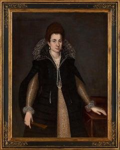 Portrait of Eleonora Orsini Sforza, c 1605-1610