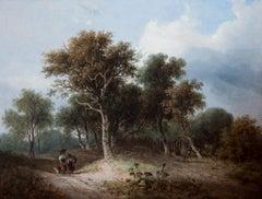 A Norfolk Landscape by Samuel David Colkett ( 1806-1863)