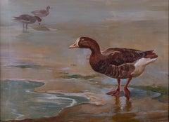 Greylag Goose An English 20th Century seascape
