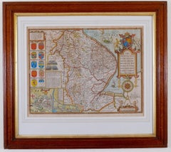 Antique Map of Lincoln