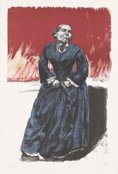 Come to Me -- Print, Lithograph, Jane Eyre, Guardians, Portrait by Paula Rego