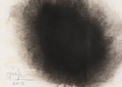 Untitled -- Drawing, Ink and Gouache, Abstract, Contemporary by Anish Kapoor