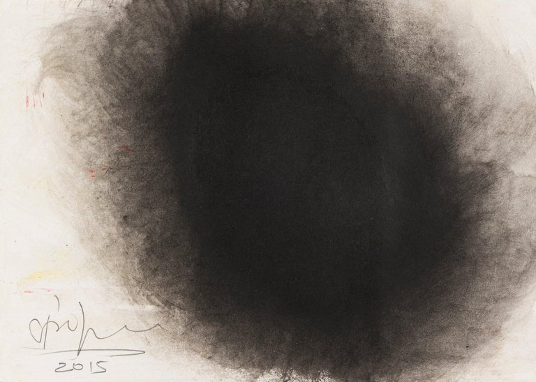 ANISH KAPOOR Untitled, 2015  Ink and gouache on paper  Signed and dated in pencil Sheet: 21.0 x 29.5 cm (8.3 x 11.6 in)  Provenance:  Private Collection, UK. The Drawing Room, London, UK.