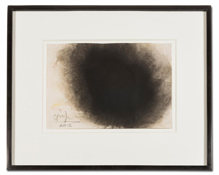 Untitled -- Drawing, Ink and Gouache, Abstract, Contemporary by Anish Kapoor For Sale 1
