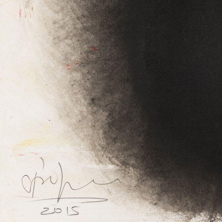 Untitled -- Drawing, Ink and Gouache, Abstract, Contemporary by Anish Kapoor For Sale 2