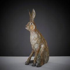 Contemporary British Wildlife Bronze Sculpture 'Sir Humphrey' by Tobias Martin