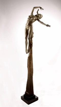 Contemporary Bronze Sculpture 'Athena - The Goddess of Wisdom' by Carl Payne