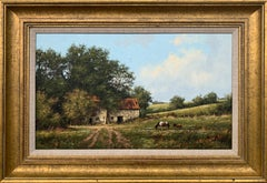 Traditional Oil Painting of the English Countryside by Modern British Artist