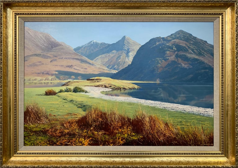 Arthur Terry Blamires Landscape Painting - Crummock Water in the English Lake District by Modern British Landscape Artist