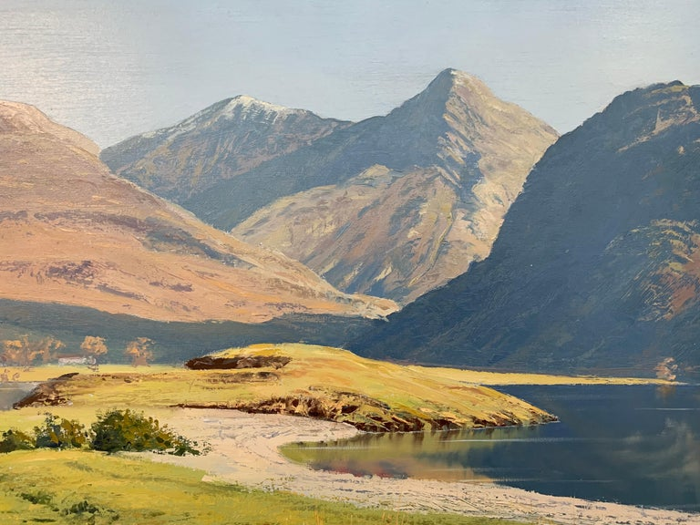 Crummock Water in the English Lake District by Modern British Landscape Artist For Sale 3