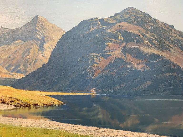 Crummock Water in the English Lake District by Modern British Landscape Artist For Sale 4