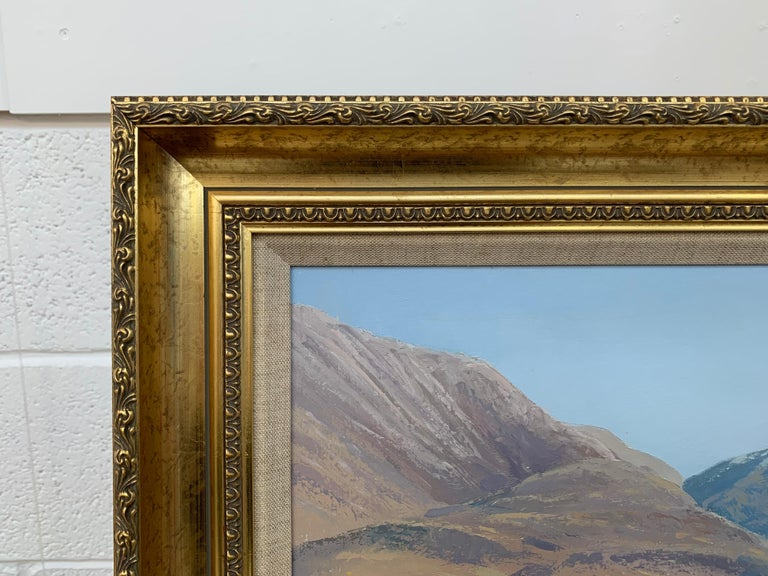 Crummock Water in the English Lake District by Modern British Landscape Artist For Sale 6