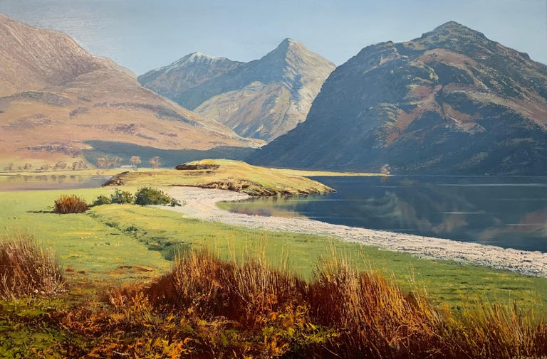 Crummock Water in the English Lake District by Modern British Landscape Artist For Sale 2