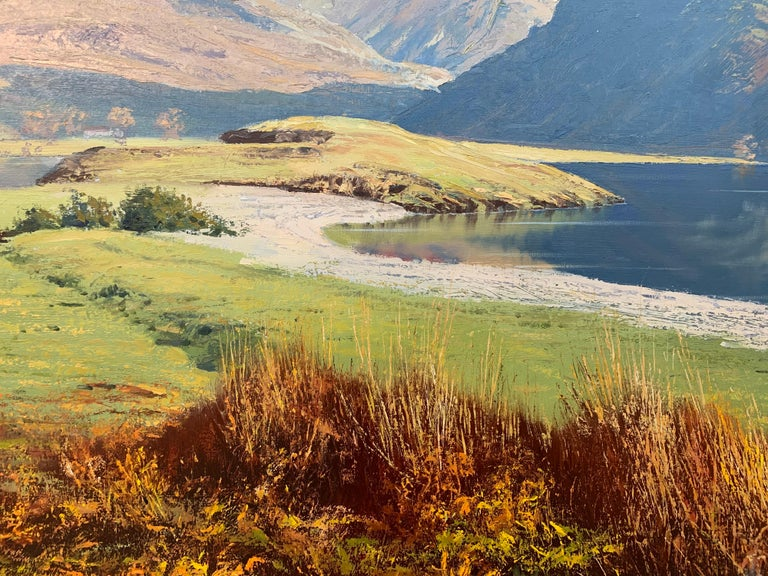 Crummock Water in the English Lake District by Modern British Landscape Artist For Sale 7