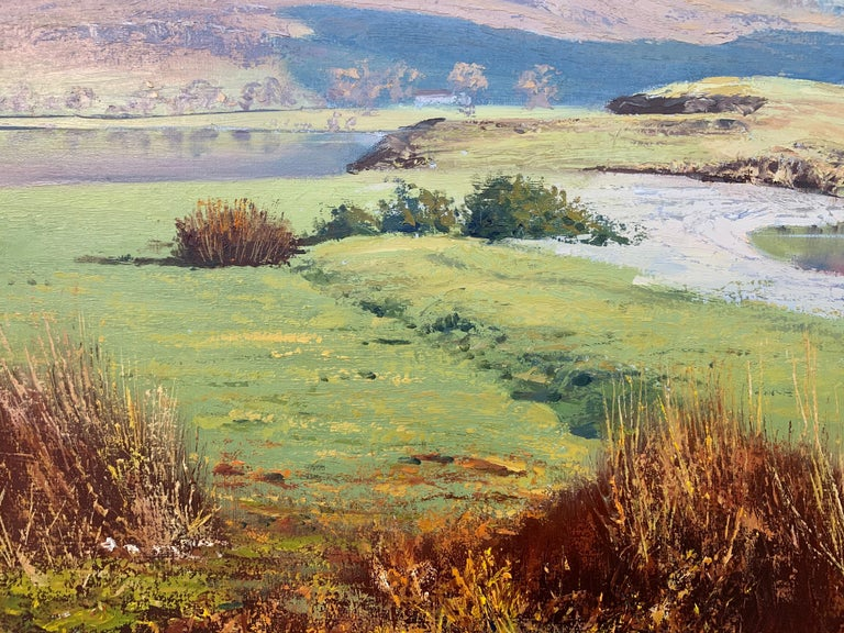 Crummock Water in the English Lake District by Modern British Landscape Artist For Sale 8